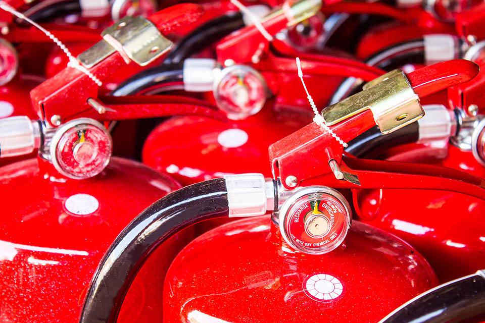 Fabricación de extintores