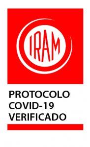 Sello protocolo COVID-19 Verificado